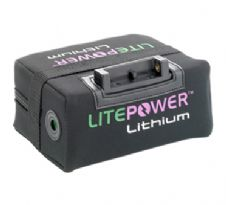 LitePower Lithium 15ah 18 Hole Golf Battery Kit